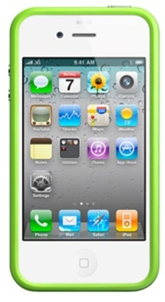 Apple Bumper iPhone 4 Green (MC671ZM)
